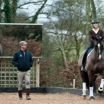 Lucinda Green rides Valegro with Carl Hester and Charlotte Dujar